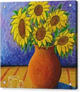 My Sunflowers Acrylic Print
