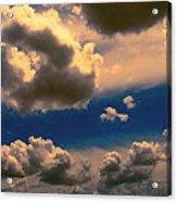 My Sunset Sky Acrylic Print by Wendy J St Christopher