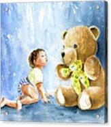My Teddy And Me 03 Acrylic Print