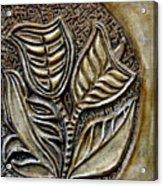 Vintaje Tile With Calas  Acrylic Print