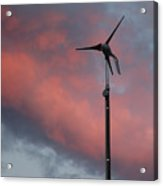 My Wind Turbine Acrylic Print