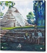 Myan Temple Acrylic Print