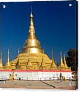 Myanmar Temple Acrylic Print