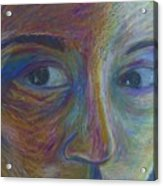 Mylar Portrait Acrylic Print