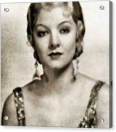 Myrna Loy, Vintage Actress Acrylic Print