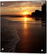 Myrtle Beach Sunset Acrylic Print