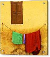 Mysore Wall Acrylic Print