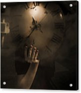 Mysteries Of Time Acrylic Print