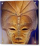Mysterious Ancient  Asian Mask Acrylic Print