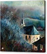 Mysterious Chapel Acrylic Print