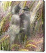 Mysterious Couple Acrylic Print