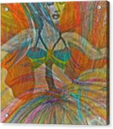 Mysterious Dancer Acrylic Print