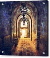 Mysterious Hallway Acrylic Print