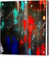 Mysterious Inferno  Acrylic Print