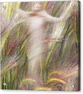 Mysterious Lady 2 Acrylic Print
