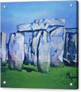Mysterious Monoliths Acrylic Print