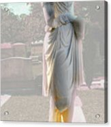 Mysterious Woman Acrylic Print