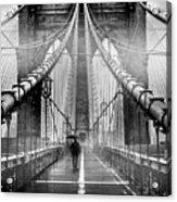 Mystery Manhattan Acrylic Print