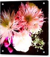 Mystery Of A Flower Acrylic Print