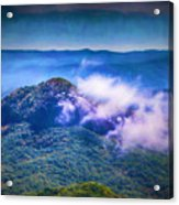 Mystery Of Looking Glass Rock Acrylic Print