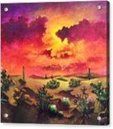 Mystery Of The Desert Acrylic Print