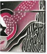 Mystery Woman Acrylic Print