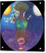 Mystery World Acrylic Print