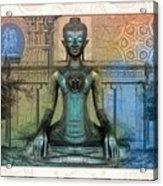 Mystic Ancient Prayers  Acrylic Print