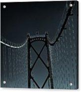 Mystic Bridge Acrylic Print
