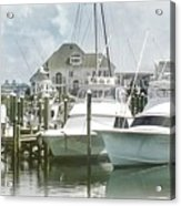 Mystic Harbour Acrylic Print