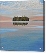 Mystic Island Acrylic Print
