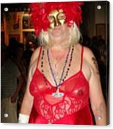 Mystic Masquerade For Linda Daughter Of Munger Acrylic Print