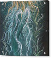 Mystic Mermaid Acrylic Print