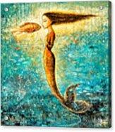 Mystic Mermaid Iv Acrylic Print