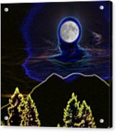 Mystic Moon Acrylic Print