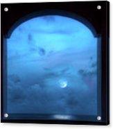 Mystic Moonrise Acrylic Print