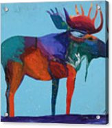 Mystic Moose Acrylic Print