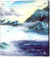 Mystic  Morning Acrylic Print