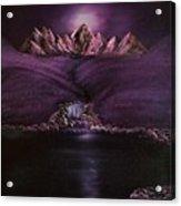 Mystic Mountains Acrylic Print