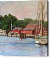 Mystic River Argia Acrylic Print