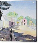 Mystic Seaport Acrylic Print