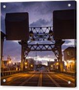 Mystic Sky Bridge Acrylic Print