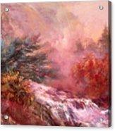 Mystic Waterfall Acrylic Print