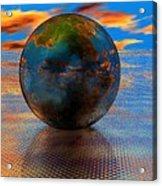 Mystical Blue Acrylic Print