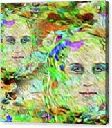 Mystical Eyes Acrylic Print