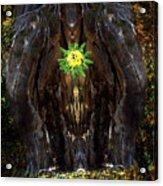 Mystical Flower Acrylic Print