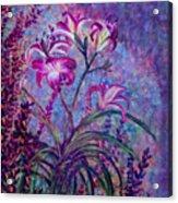 Mystical Garden Acrylic Print