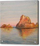 Mystical Island Es Vedra Acrylic Print