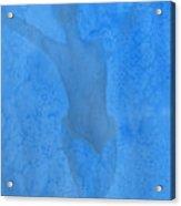 Mystical Merman In Blue Acrylic Print