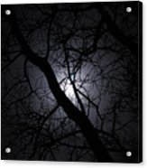 Mystical Moon Acrylic Print